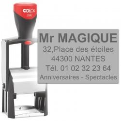 Tampon Colop Classic Line 2300 - 5 lignes max. - 45x30 mm