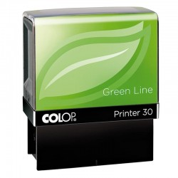 Tampon Colop Printer Green Line 30 - 4 lignes max. - 47x18 mm