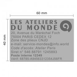 Tampon Colop Printer Line 55 - 10 lignes max. - 60x40 mm