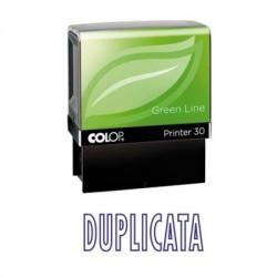 Tampon formule DUPLICATA - Colop Printer 30 - 47 x 18 mm